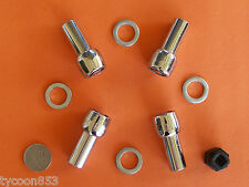 MAG WHEEL LOCK NUTS (LONG) SUIT FORD FALCON  XK - XP XR - XY XA - XF EA - FG