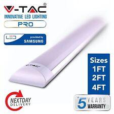 LED Ceiling Strip Light Slimline Fittings 1ft 2ft 4ft Cool White or Daylight