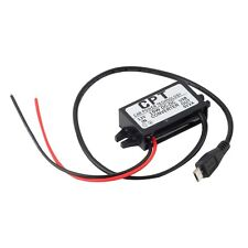 Car Charger DC Converter Module 12V To 5V 3A 15W with Micro USB Cable New YF