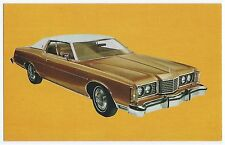1974 Ford LTD BROUGHAM 2-Dr Hardtop Original Dealer Promo Postcard UNUSED VG+/Ex