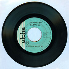 Philippines FREDDIE AGUILAR Sa Paskong Darating OPM 45 rpm Record