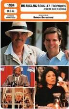 FICHE CINEMA : UN ANGLAIS SOUS LES TROPIQUES - Friels,Connery,Beresford 1994