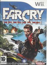 FAR CRY VENGEANCE for Nintendo Wii - with box & manual - PAL