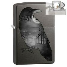 Zippo 29407 Raven & Cemetary Lighter with PIPE INSERT PL
