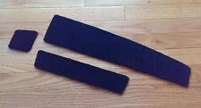 Blue CUSTOM MADE * Volvo 240 242 244 140 160 Front Dash Slot Windshield Carpet