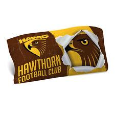 Hawthorn Hawks 2018 AFL Single Double-sided Pillowcase BNWT