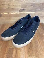 Nike SB Zoom Bruin ISO Size 14 Black White Orange Label CD6750-018