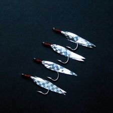NEW SHAKESPEARE SILVER GHOST LURE MACKEREL  RIG SZ 2/0 SEA RIG FREE POST UK