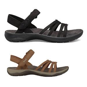 Teva Elzada Leather Casual Open-Toe Strappy Slingbacks Womens Sandals