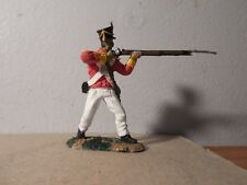 60mm CONTE ALAMO MEXICAN INFANTRY--- firing his musket-- painted by seller