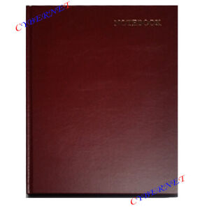 A4 A5 LEATHERETTE Hardback Notebook Lined Journal Planner Book Writing 6 COLOURS
