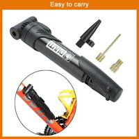 Portable Bicycle Bike Compact Light Hand Air Pump Tire Inflator Attach to Frame