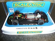 Scalextric  C3858  Ford GT GTE Working chassis/lights, DPR with box
