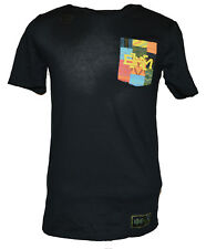 NEW NIKE BLACK HISTORY MONTH BHM POCKET TEE SHIRT DRI-FIT MENS LARGE BLACK BLM