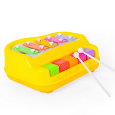 5 Keys Mni Knocked Piano Toy Xylophone for Toddlers Baby