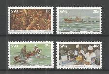 S.W.A 1983 THE LOBSTER INDUSTRY SG,419-422 UN/MM NH LOT 1159A