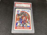 1989 Hoops Michael Jordan Signed #21 All-Star Game #21 AUTO PSA PSA/DNA Bulls