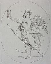 C. B. RODE ´CHRONOS, ALLEGORISCHE PERSONEN, KARL WILHELM RAMLER` RADIERUNG 1788