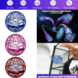 For Flynova Pro UFO Flying Toy Boomerang Spinning Ball Hand Drone Children Gift-