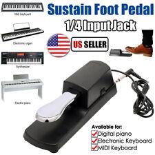 Piano Sustain Pedal Universal for Electronic Keyboards Roland Yamaha Casio Moog