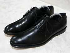 PAUL SMITH LONDON* MEN'S OXFORDS BLACK LEATHER SHOES SIZE UK 7 EUR 41 US 8