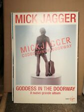 MICK JAGGER - GODDES IN THE DOORWAY-CARTONATO 98 X 68
