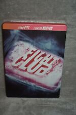 Fight Club Dvd Steelbook Brad Pitt Edward Norton 20th Century Fox Region 1 Oop