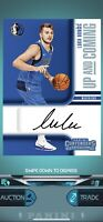 PANINI DUNK DIGITAL APP Card LUKA DONCIC RC 2018-19 Contenders Up & Coming AUTO