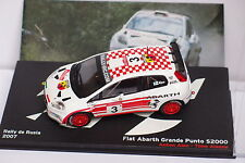 FIAT ABARTH GRANDE PUNTO S2000 #3 RALLY DE RUSIA 2007  IXO  1/43  J28