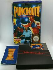 Punch-Out!! Video Game for Nintendo NES PAL BOXED TESTED