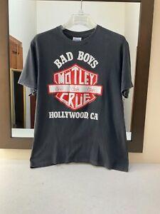 Vintage Motley Crue girls girls girls Tour t-shirt 1987