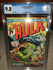 Hulk #180 CGC 9.8 1974 1st Wolverine in Cameo! X-Men Before #180 Rare K10 112 cm