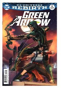 Green Arrow #6 (Early November 2016, DC) NM- Neal Adams Variant cover