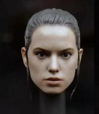 """1/6 Scale Star Wars Rey Head Sculpt for 12"""" Action Figure"""
