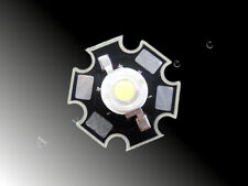 10 x 5w HIGH POWER LED Chip STAR SCHEDA ELETTRONICA 10000k - 20000k BIANCO ACQUARIO 5 WATT HI