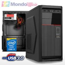 PC Computer Desktop Intel i3 4160 3,60 Ghz - Asrock B85M-HDS - USB 3.0