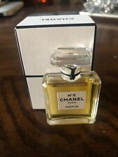 CHANEL No 5 PARFUM 7.5ml ( PURE PERFUME) Vintage. Opened - Full Bottle.