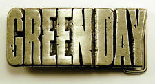 Belt Buckle - Green Day - Pewter - American Idiot - NEW -  2005 RARE - uk