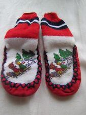 Bert and Ernie Slipper Socks Muppets Inc Infant Size 3/4 Slip Resistant Sole