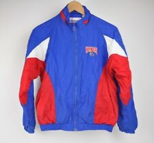 VTG REEBOK Colorblock YOUTH L Kansas KU Jayhawks NYLON windbreaker JACKET NCAA