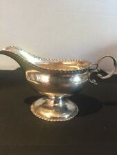 ANTIQUE Solid Silver Sauce Boat London 1770