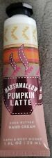Bath and Body Works Hand Cream~Marshmallow Pumpkin Latte