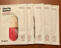5x Dr. Jart+ Dermask Micro Jet Clearing  Solution Single Use Mask 27 g/ 1 oz.