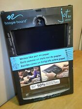 Boogie Board Jot 8.5 LCD eWriter Writing Tablet Pad BLACK + Stylus 50% BRIGHTER