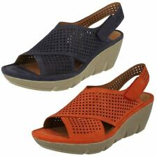 Clarks Wedge Sandals Heels for Women