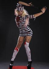Womens Halloween Horror Zombie Convict Costume
