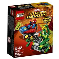 Marvel Cod. 76071 Super Hereos Mighty Micros: Spider-Man contro Scorpio LEGO