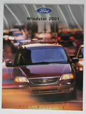 FORD WINDSTAR 2001 dealer brochure - French - Canada ST1002000218