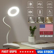 New LED Desk Lamp With Clamp Table Lamp 3 Modes Adjustable Night Light Lamp USA