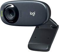 Logitech C310 Webcam HD 720p 60° Sichtfeld Fester Fokus Belichtungskorrektur Neu